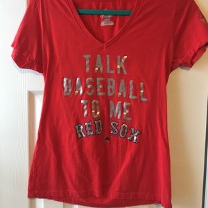 Women's Red Sox Baseball Shirt
